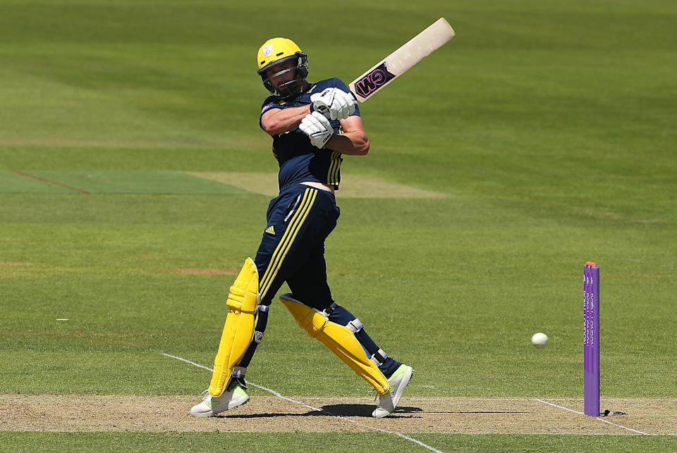 Hampshire's James Vince continued his outstanding form (PA Archive)