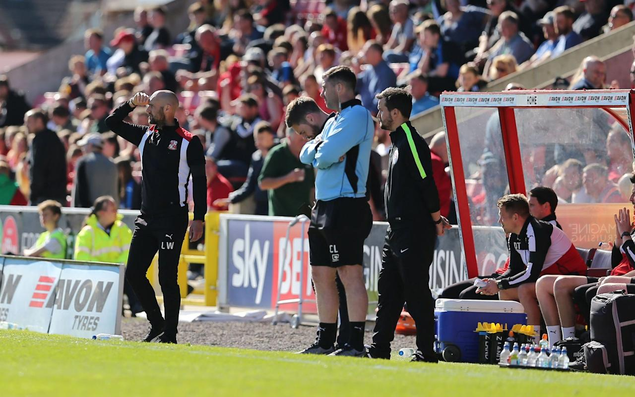 Swindon Town publish official match report with no mention of their relegation