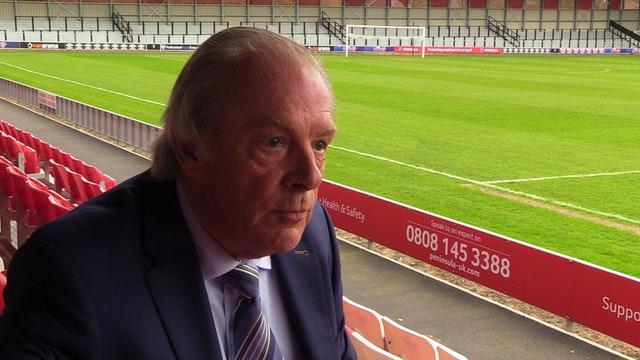 Gordon Taylor took over as head of the PFA in 1981