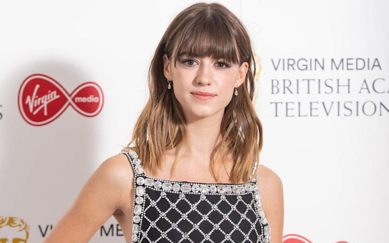 Daisy Edgar Jones wearing Miu Miu at the BAFTA TV awards last week - Getty
