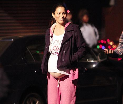 Jessica Biel Loved Being Pregnant in Upcoming Flick, New Year's Eve