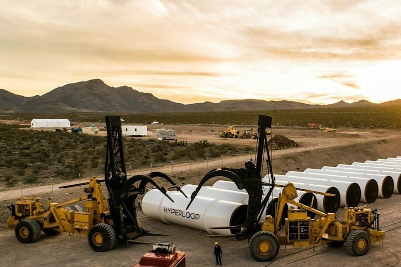 Hyperloop test site shows commitment to making high-speed travel a reality