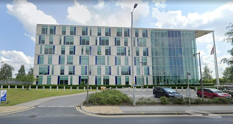 Greater Manchester Police (GMP) HQ in Northampton Rd (Picture: Google Maps)