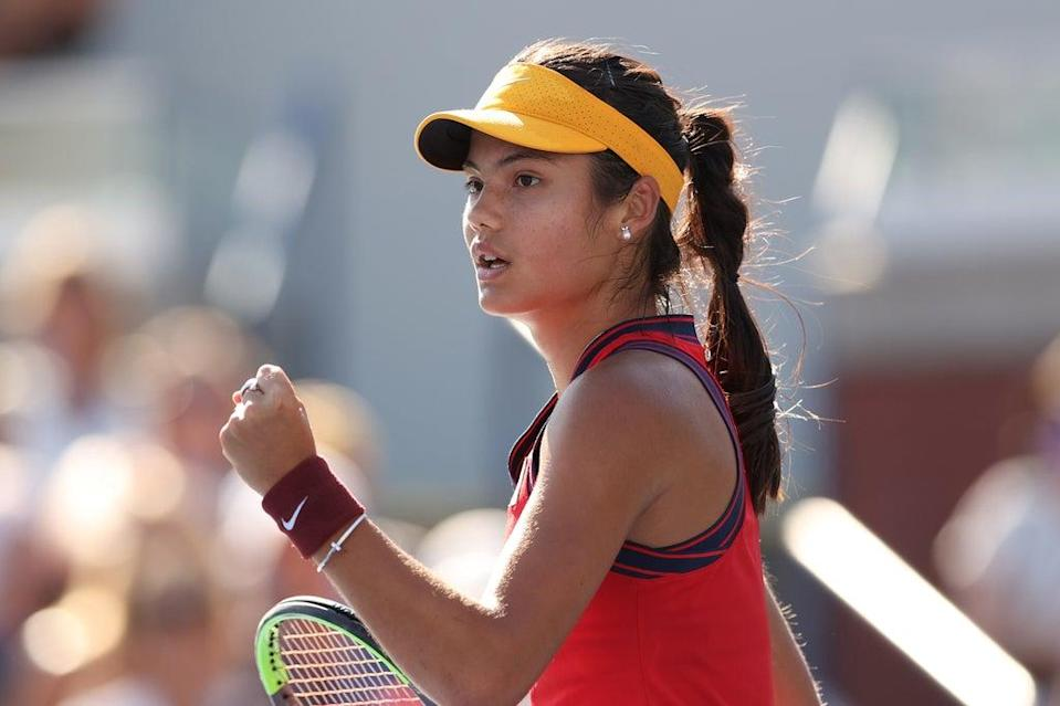 Emma Raducanu will likely face world no1 Ash Barty in the fourth round at the US Open (Getty Images)