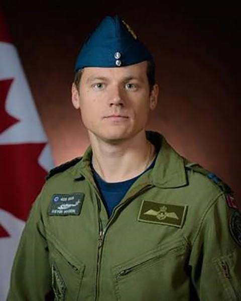 Capt. Kevin Hagen, a pilot originally from Nanaimo, British Columbia, is shown in a Department of National Defence handout photo. (THE CANADIAN PRESS/HO-Department of National Defence)