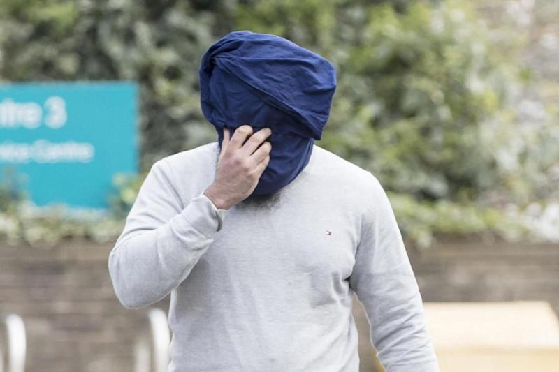 Ringleader: Amere Singh Dhaliwal pictured outside Huddersfield Magistrates Court in 2017 (PA Archive/PA Images)