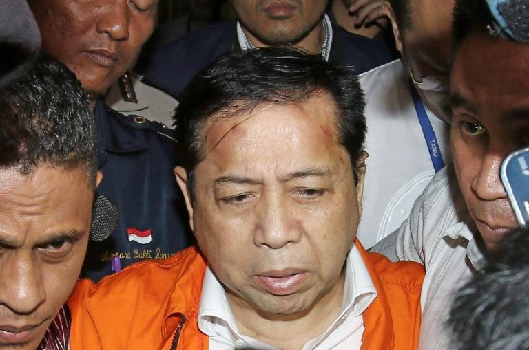 Indonesia's parliament speaker Setya Novanto, 62, has been charged in a graft scandal that shocked the country earlier this year