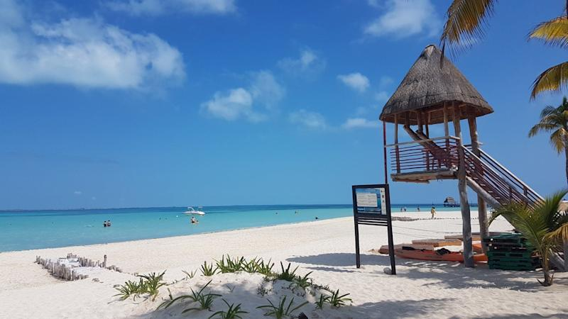 """<a href=""""https://www.tripadvisor.com/Attraction_Review-g150810-d543150-Reviews-Playa_Norte-Isla_Mujeres_Yucatan_Peninsula.html"""" target=""""_blank"""">Playa Norte</a> is a quick ferry ride across Cancun, and a worth-in destination for snorkeling, sunbathing, and touring.<strong><br /><br />Nearby beachfront hotel:</strong><a href=""""https://www.tripadvisor.com/Hotel_Review-g150810-d456336-Reviews-Hotel_Bucaneros_Hotel_Suites-Isla_Mujeres_Yucatan_Peninsula.html"""" target=""""_blank"""">Hotel Bucaneros Hotel & Suites</a>,from $90 per night"""