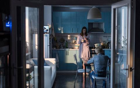 The mother and son at breakfast in a still from Loveless - Credit: Sony Pictures Classics via AP