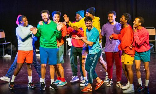 The PappyShow: Boys review – 10-man team gets to grips with masculinity