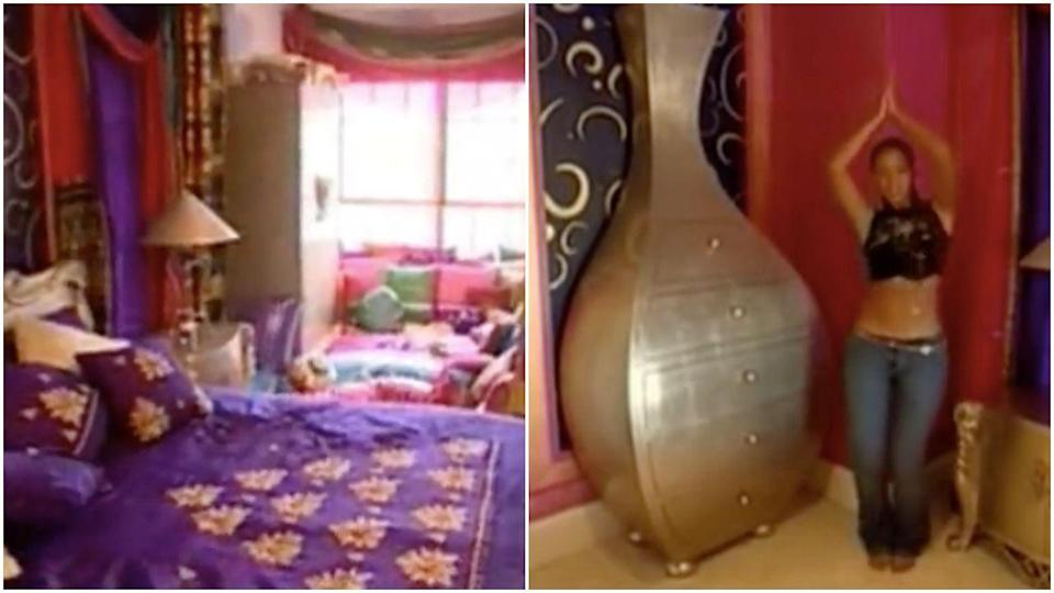 <p>Two things: 1) I am desperate to know if Beyoncé still owns this bedroom furniture, and 2) her bed is the same one from <em>Devil's Advocate </em>starring Keanu Reeves. </p>