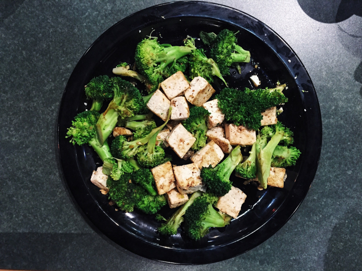 nutrient broccoli tofu