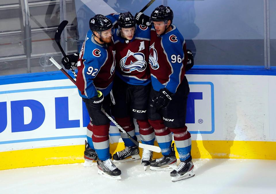 Gabriel Landeskog, Nathan MacKinnon and Mikko Rantanen hope to power the Colorado Avalanche to a Stanley Cup championship.