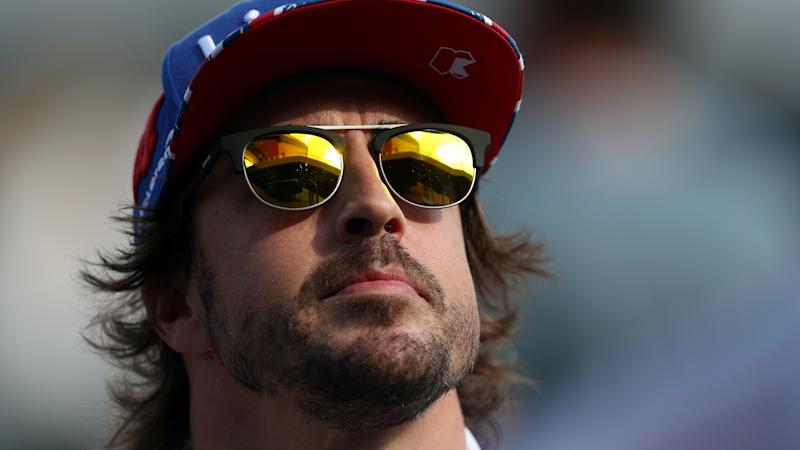 Fernando Alonso makes his Formula One comeback in a private test for Renault