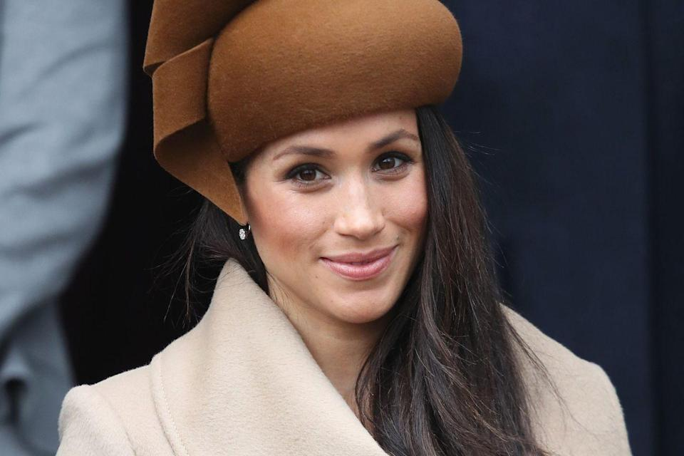<p>Listen, there aren't suuuuperr specific rules regarding makeup, but royals are usually seen with lighter makeup. She was not afraid to chizzle out those cheekbones with some bronzer! Yes girl!</p>