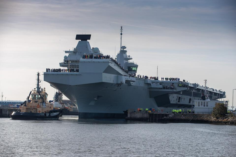 <p>Babcock is a key supplier to the Navy</p> (Kenny Smith Photography/PA)