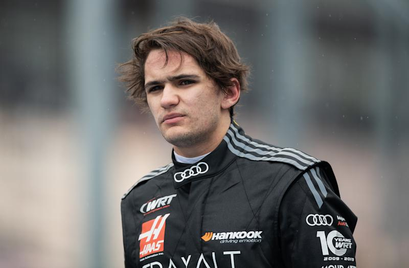 HOCKENHEIM, GERMANY - MAY 04: Pietro Fittipaldi of Brazil and Audi W Racing Team after the qualifying for Race 1 of the DTM 2019 German Touring Car Championship at Hockenheimring on May 04, 2019 in Hockenheim, Germany. (Photo by Matthias Hangst/Bongarts/Getty Images)