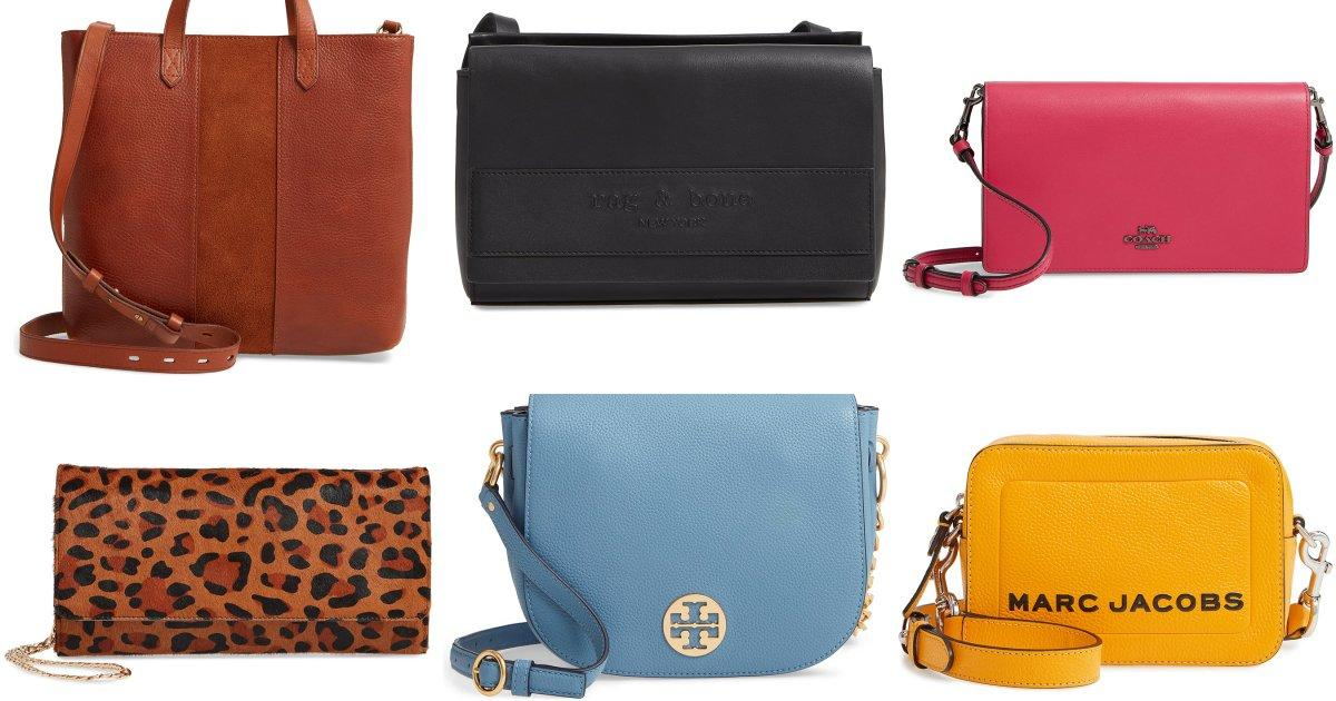 Nordstrom Has Tons of Gorgeous Handbags On Sale Including Kate Spade, Tory Burch, Coach, and More!