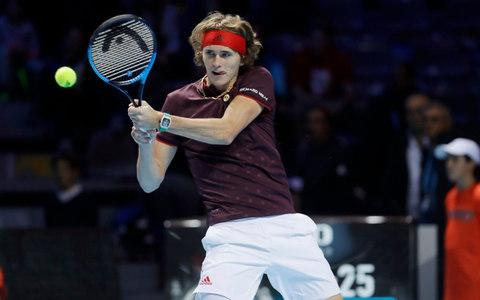 Alexander Zverev withdrew from the Next Gen Finals to concentrate on London - Credit: AP