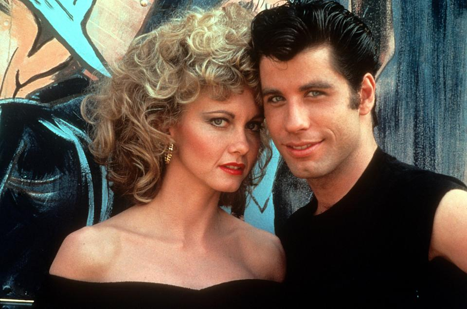 """Olivia Newton-John and John Travolta have remained friends since they met on the set of """"Grease"""" over 40 years ago. (Photo: Paramount/Getty Images)"""