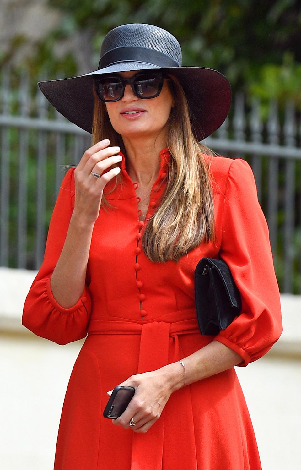 Journalist and producer Jemima attended the wedding of Lady Gabriella Windsor earlier this year - where William was also a guest