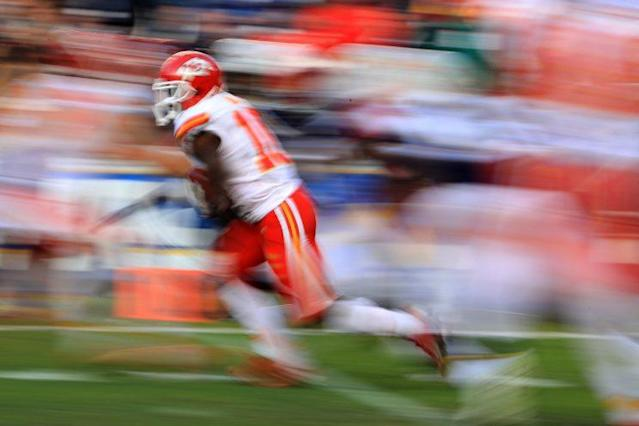 Tyreek Hill was a blur last season. Can he be an every-down receiver in 2017? (Getty)