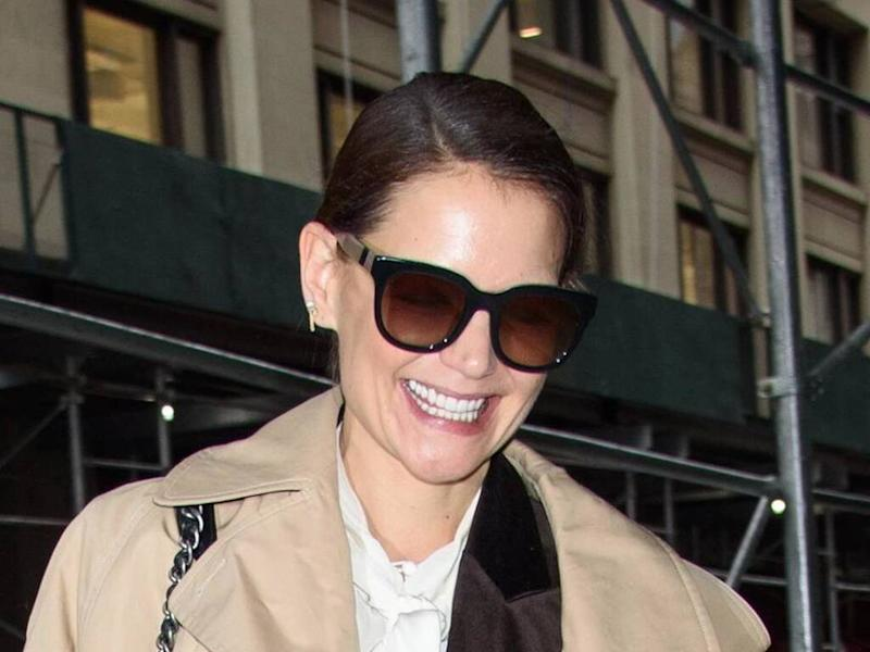 Katie Holmes: 'Lockdown had a lot of silver linings'