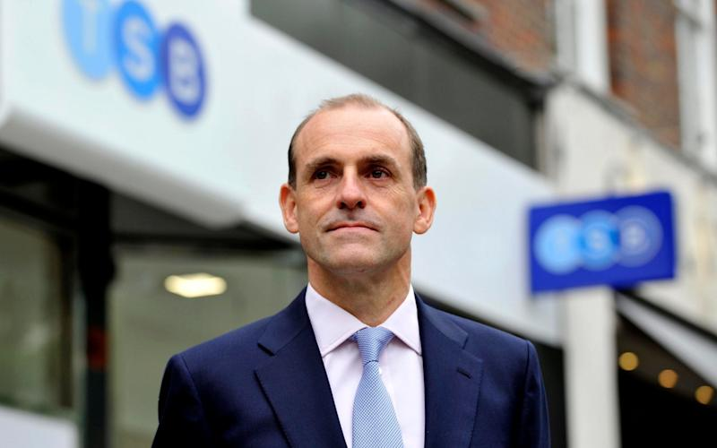 TSB chief Paul Pester invited ridicule this afternoon by saying