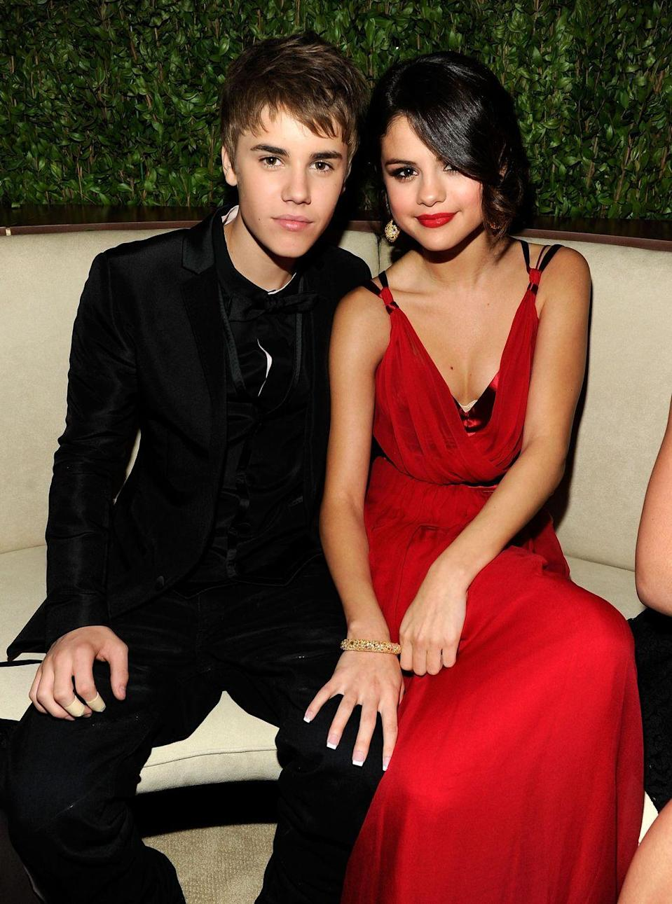 "<p><a href=""https://www.cosmopolitan.com/entertainment/celebs/a62812/justin-bieber-selena-gomez-timeline-breakup/"" rel=""nofollow noopener"" target=""_blank"" data-ylk=""slk:Over the years"" class=""link rapid-noclick-resp"">Over the years</a>, Selena and Justin have thrown shade at each other more times than they've been apart and back together again. <a href=""https://www.cosmopolitan.com/entertainment/news/a62785/justin-bieber-selena-gomez-instagram-shade/"" rel=""nofollow noopener"" target=""_blank"" data-ylk=""slk:Things reached a peak in 2016"" class=""link rapid-noclick-resp"">Things reached a peak in 2016</a> when Justin threatened to shut down his social media after fans lashed out at him over a photo of Sofia Richie. Then Selena got in there, commenting, ""If you can't handle the hate then stop posting pictures of your girlfriend lol,"" before posting photos of herself with fans on Instagram. In response, Justin wrote, ""It's funny to see people that used me for attention and still try to point the finger this way. Sad. All love."" The episode ended with Selena apologizing on Snapchat (""What I said was selfish and pointless"") and Justin deleting his Instagram entirely. (Don't worry, it returned a few months later.) </p>"