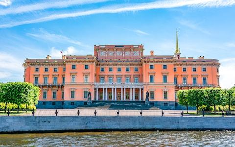 Mikhailovsky Palace, St Petersburg, Russia - Credit: Getty