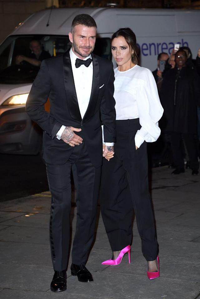 <p>Date night with the Beckhams is a cut above 2 for 1 at Pizza Express. It involves a press corps, some fancy dinner and a well-fitted tuxedo that proves the merits of classic, fail-safe black tie.</p>