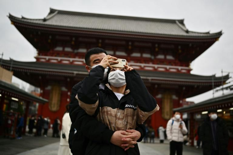 Chinese visitors make up 37 percent of all Japan's inbound tourists and the virus outbreak is likely to affect a range of local businesses
