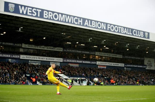 West Brom resume their bid for promotion to the Premier League (Nick Potts/PA)