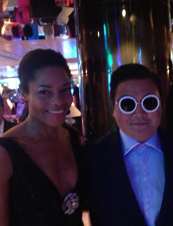 Naomie Harris and Adrian Brody Both Fooled By Fake Psy At 2013 Cannes Film Festival