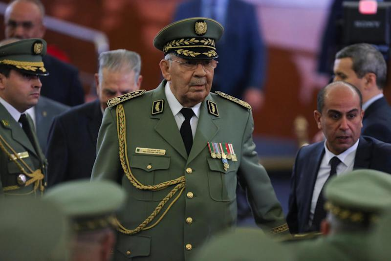 Algeria's powerful military chief Ahmed Gaid Salah dies