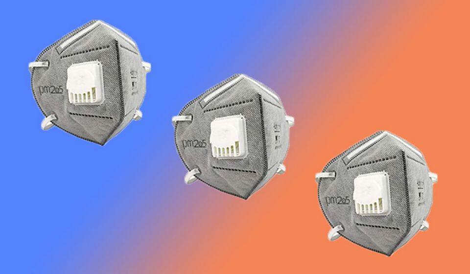 Wenime KN95 Mask With Safety with Breathing Valve, Pack of 10 (Photo: Amazon)