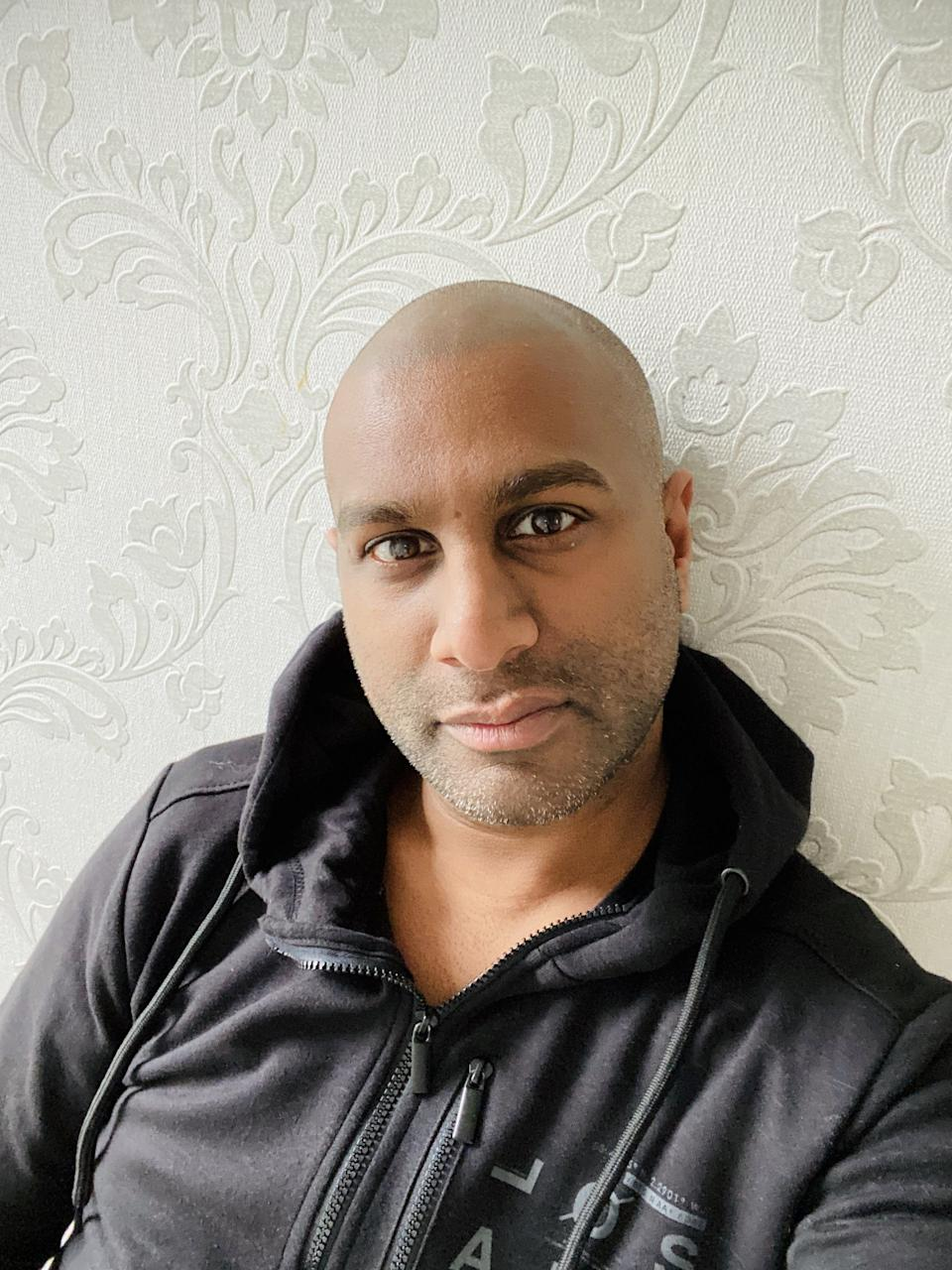 Ashan Jeeawon works as a property stylist and is also a local councillor. (SWNS)