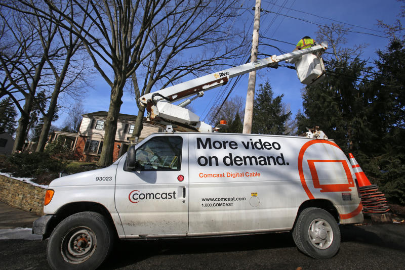 Comcast gains video subs in 4Q