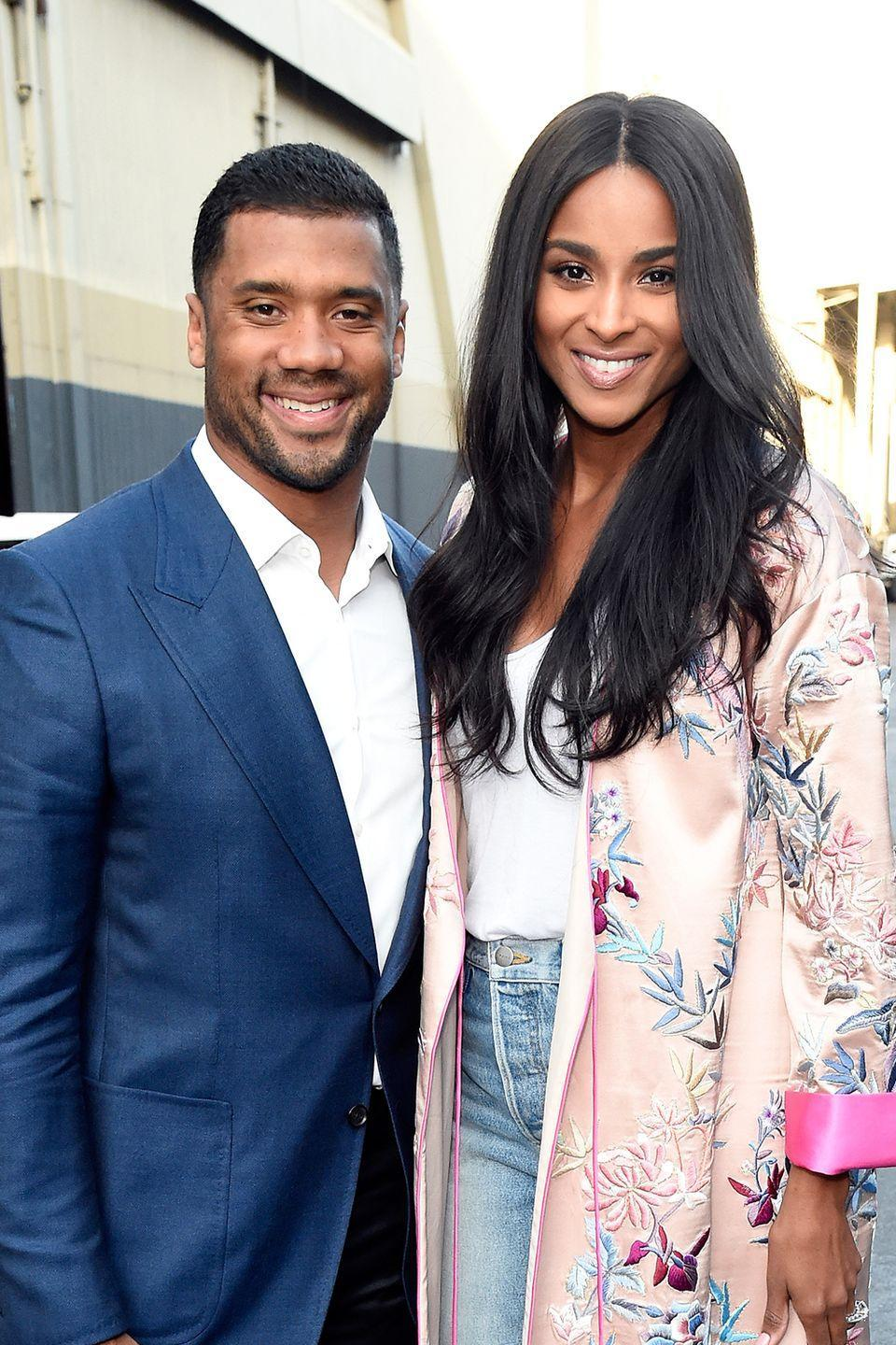 """<p>Just a couple of months into their relationship, singer Ciara and NFL star Russell Wilson vowed they'd be celibate until the day they were married—which was July, 6, 2016.</p><p>""""I really believe that when you focus on a friendship, you have the opportunity to build a strong foundation for a relationship—and once you know you're really great friends and you're what we call 'equally yoked,' where you share the same values or the same outlook on life, it kind of sets the tone,"""" Ciara said in <a href=""""http://people.com/music/ciara-explains-russell-wilson-abstinence-cosmopolitan/"""" rel=""""nofollow noopener"""" target=""""_blank"""" data-ylk=""""slk:an interview"""" class=""""link rapid-noclick-resp"""">an interview</a>. </p>"""