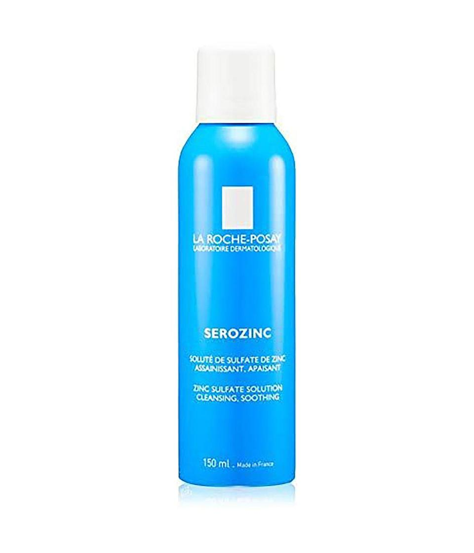 """<p><strong>La Roche-Posay</strong></p><p>amazon.com</p><p><strong>$14.99</strong></p><p><a href=""""https://www.amazon.com/dp/B002WZJQLA?tag=syn-yahoo-20&ascsubtag=%5Bartid%7C10067.g.33634970%5Bsrc%7Cyahoo-us"""" rel=""""nofollow noopener"""" target=""""_blank"""" data-ylk=""""slk:Shop Now"""" class=""""link rapid-noclick-resp"""">Shop Now</a></p><p>Oily types will love this soothing Zerozinc toner that is great not just for the face but the whole body.</p>"""