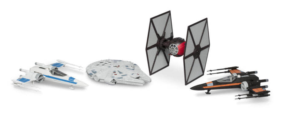 <p>Revell has just released an assortment of pre-painted, snap-together vehicles that light up and have sound effects.</p>