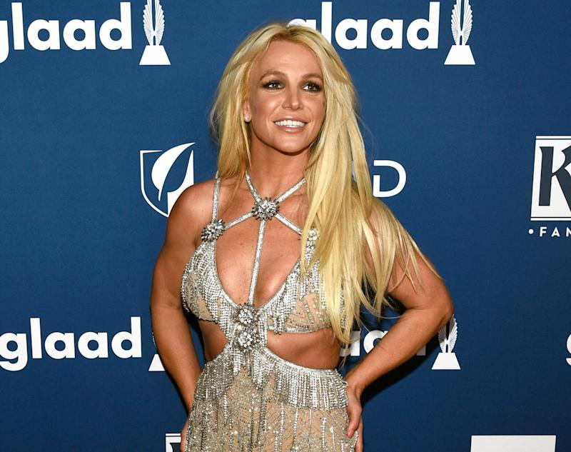In this April 12, 2018, file photo, Britney Spears arrives at the 29th annual GLAAD Media Awards in Beverly Hills, California.  (Photo: Chris Pizzello/Invision/AP)