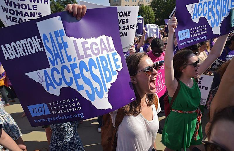 Some abortions in Texas can continue, federal judge rules