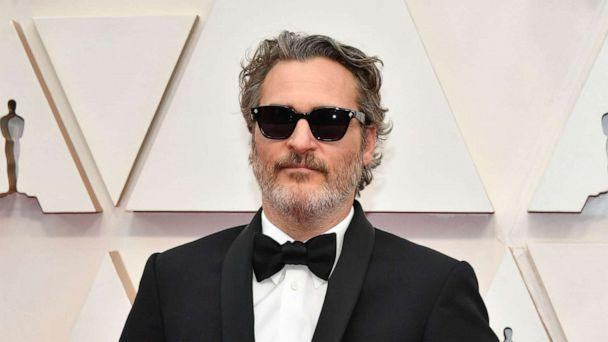 PHOTO: Joaquin Phoenix arrives at the Oscars, Feb. 9, 2020, in Hollywood, Calif. (Amy Sussman/Getty Images)
