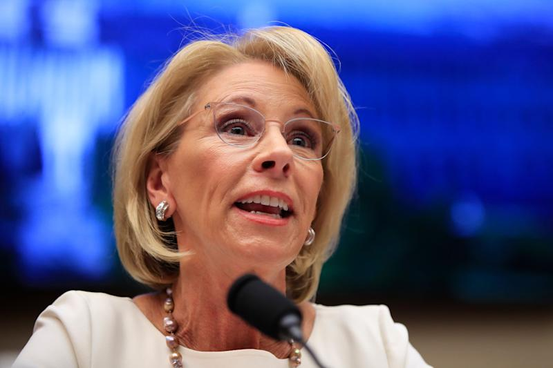 Education Secretary Betsy DeVos is being sued by more than 158,000 former for-profit college students. (Photo: Manuel Balce Ceneta,/Associated Press)