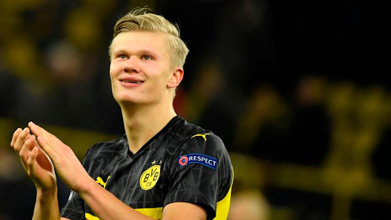 Favre impressed by Haaland's defensive work in Dortmund's Champions League win