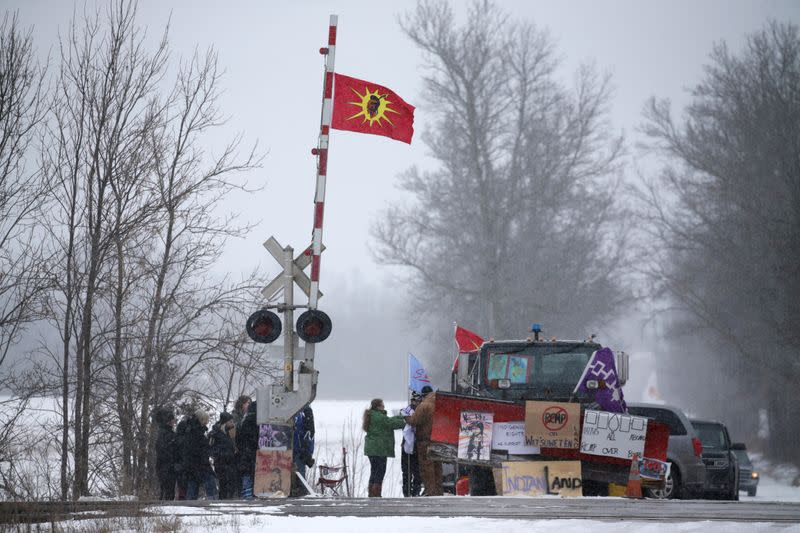 CN Rail to shut down Eastern Canadian operations due to protests