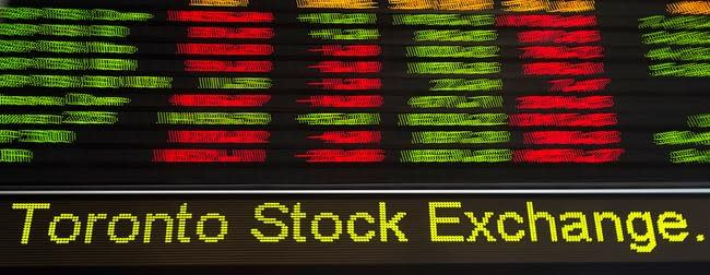 Most actively traded companies on the TSX