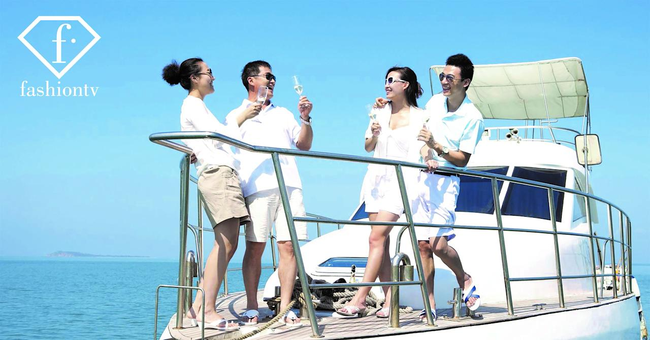 In this image released on Friday, March 21, 2018, it is announced that Fashion TV has been appointed to distribute 25 Chinese TV channels to 230 million Chinese tourists in hotels around the world. FashionTV cooperates with APT Satellite Company Limited to distribute the Great Wall TV Platform, a TV channel bouquet including some highly-rated TV channels, namely CCTV-Entertainment, Hunan TV, Zhejiang TV, Oriental TV, to hotels around the world, using a combination of OTT and satellite distribution technology to maximize the coverage. For further information visit http://www.apmultimedianewsroom.com/newsaktuell. (FashionTV via AP Images)