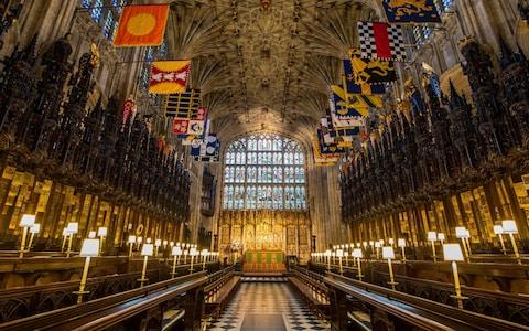"""The decision of Prince Harry and Meghan Markle to be married in St George's Chapel, Windsor Castle, has proven surprisingly popular with the public, who will still be able to watch the big day live on television. It will make their wedding ceremonyand procession a smaller spectacle, a less grand affair than Prince William's, held in Westminster Abbey in 2011. But the couple's choice of venue has many other advantages. Londoners can sometimes be resentful when arteries such as The Mall are closed, making it hard to get about – as experienced with the road closures being put in place ahead for last month's London Marathon. But Windsorians love a traffic jam. They appreciate the excitement of a great royal event in their town, be it a state visit, a royal walkabout or even the daily changing of the guard. St George's Chapelhas fine perpendicular architecture and the colourful banners of the Knights and Ladies of the Order of the Garter Credit: AFP St George's Chapel is more intimate than Westminster Abbey and memorably beautiful, with its fine perpendicular architecture and the colourful banners of the Knights and Ladies of the Order of the Garter hanging over the finely carved oak stalls in the Quire. The Chapel has been a focal point for significant royal occasions since it was built, and it has much resonance for Prince Harry, if not yet, for his bride-to-be. But she will get to know it. I remember seeing the present Countess of Wessex popping into the Cloisters from time to time, before the Castle admitted tourists in the morning, as she went over the plans for her great day. St George's Chapel is what is known as a """"Royal Peculiar"""" within Windsor Castle. It does not come under the jurisdiction of the Archbishop of Canterbury, who only attends at the invitation of the Dean of Windsor, a domestic chaplain to the Queen. The present chapel was built between 1475 and 1528 and is, in the words of Prince Philip, """"an architectural marvel"""". Charles I is among the monarchs """